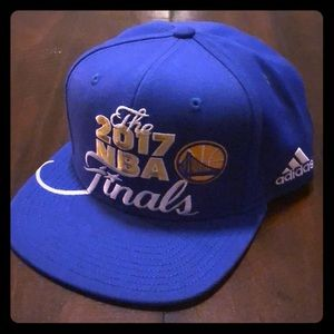 Adidas GSW Warriors NBA Finals SnapBack Hat